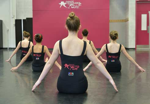 Concentration danse
