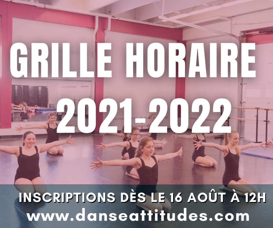 ***GRILLE HORAIRE 2021-2022***